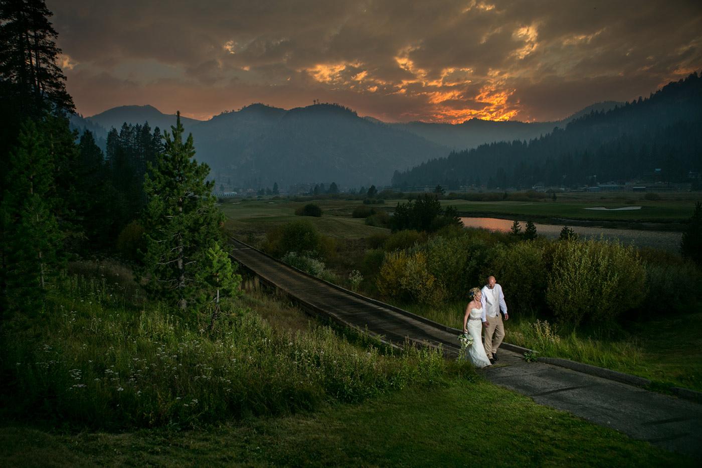 squaw valley lake tahoe wedding photos