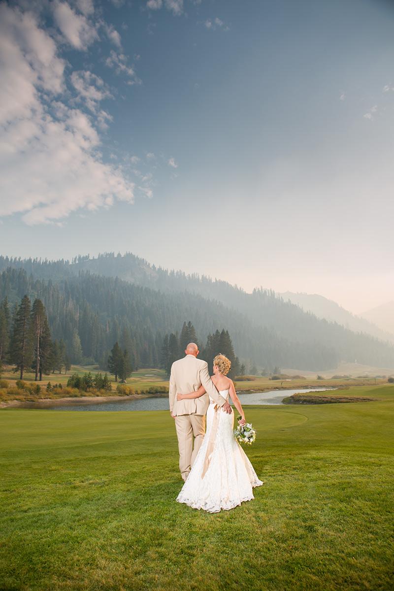 resort at squaw creek wedding photos