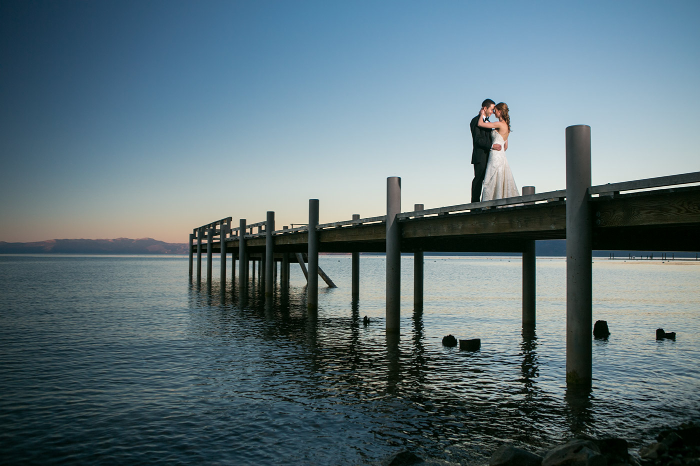 wedding at valhalla lake tahoe