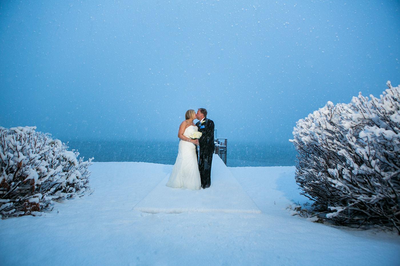 lake tahoe creative winter wedding