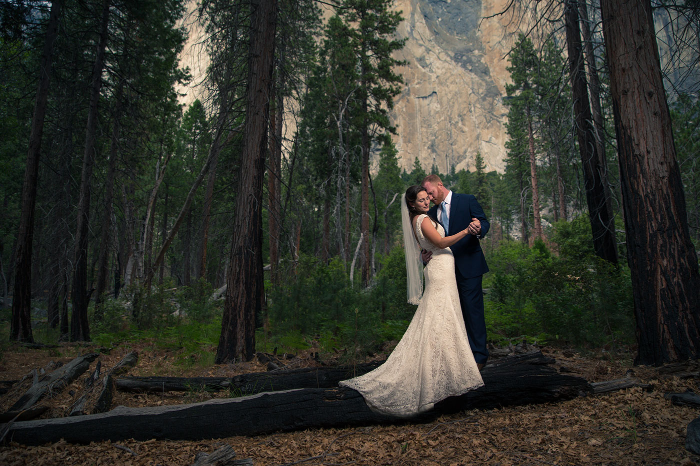 wedding in yosemite national park