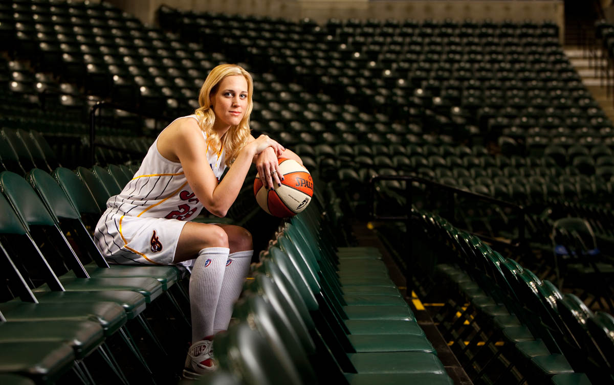 Katie Douglas of the Indiana Fever.