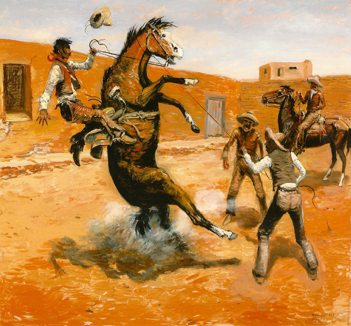 The Flying Caballo ©      42x41