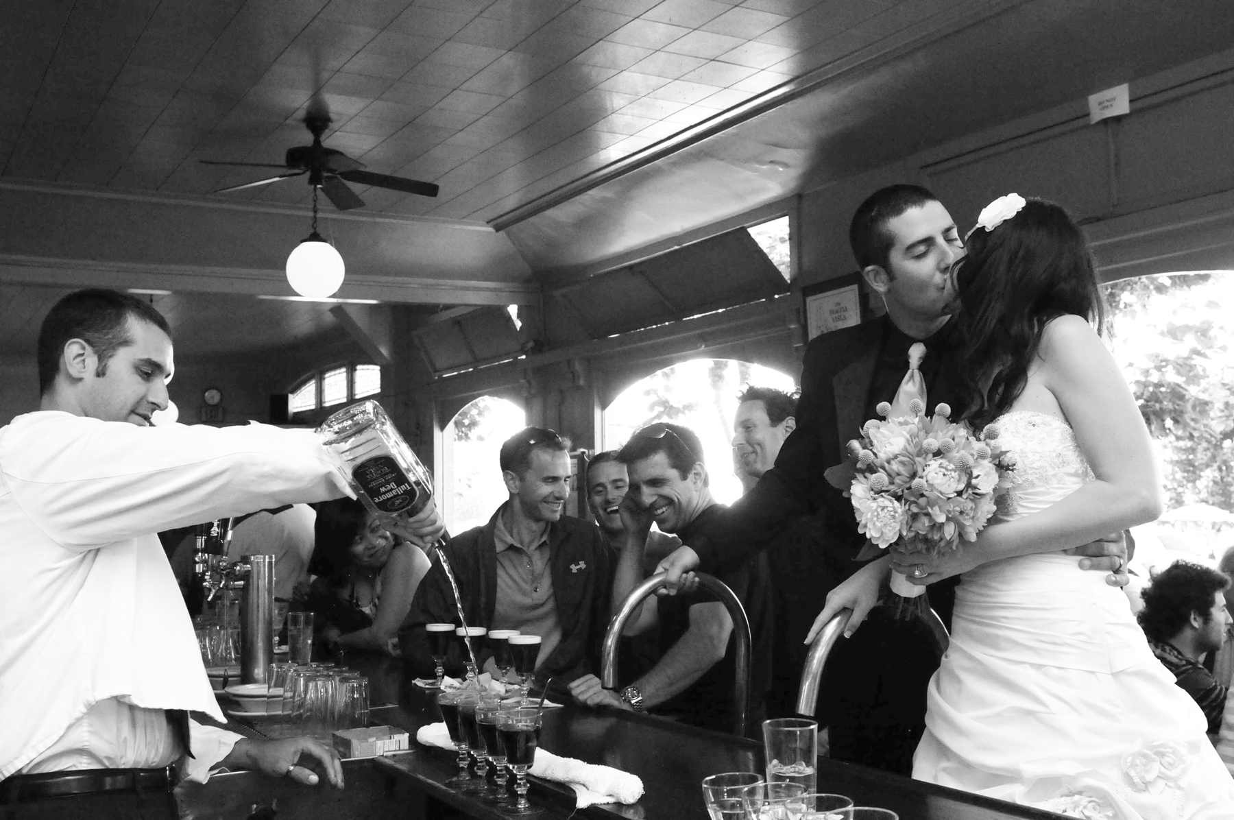 San Francisco Bay Area Destination Wedding Photographer Argonaut Hotel Wedding Image / Photo in Fisherman's Warf at The Buena Vista