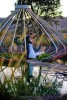 Artistic and Creative Documentary Wedding Image at Sonoma Cornerstone Gardens.  Image photographed by Documentary Wedding Phtogorapher enLuce Phtography based in Sonoma's Wine Country.