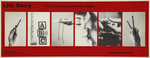 Critical Messages, Artemesia Gallery1985bus placard, Chicago Transit Authority
