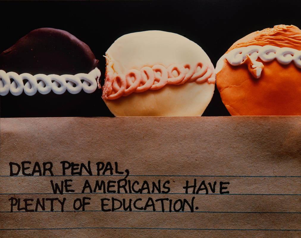 Dear Pen Palphoto ©1979 Anne Turyn