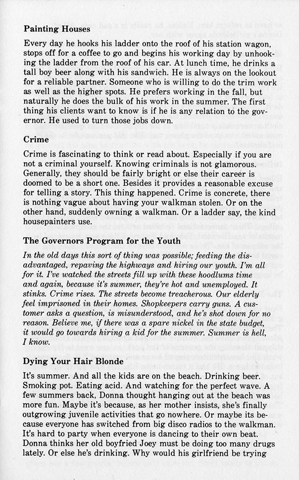 Top Stories 1495 Essential Facts© 1982 Lee Eiferman