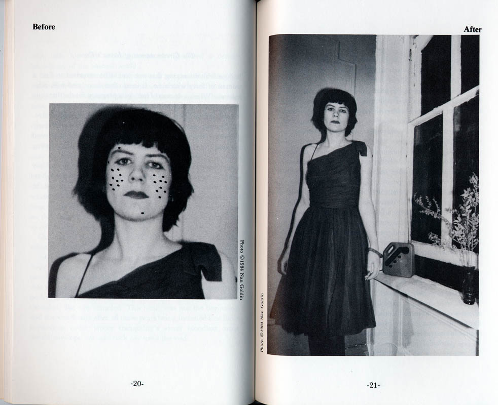 photos by David Armstrong, Nan Goldin, Peter Hujar1984