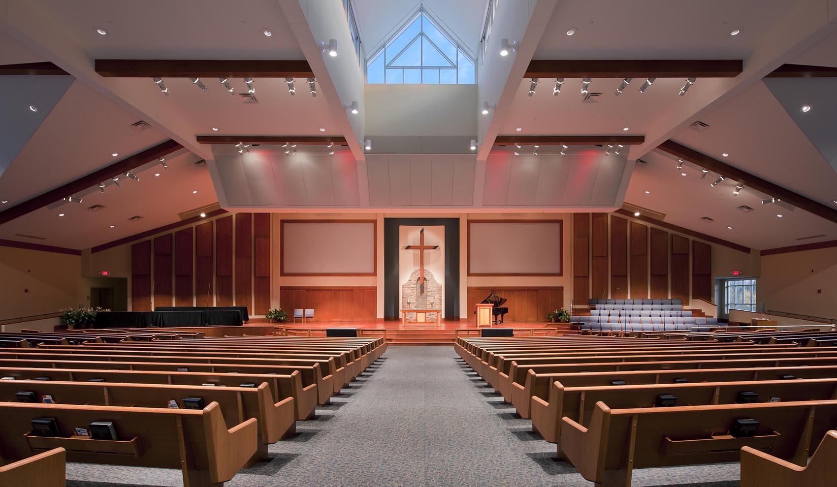 sanctuary from center aisle