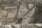 stairway in Les Baux de Provence