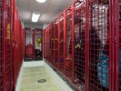 red cage lockers