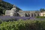 12th century stone abbey near Gordes, France