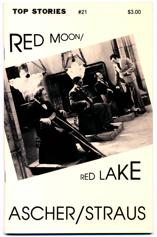 #21Red Moon/Red Lakeby Sheila Ascher and Dennis Straus1984cover photograph, from Dr. X, courtesy od The Museum of Modern Art/Film Stills Archive