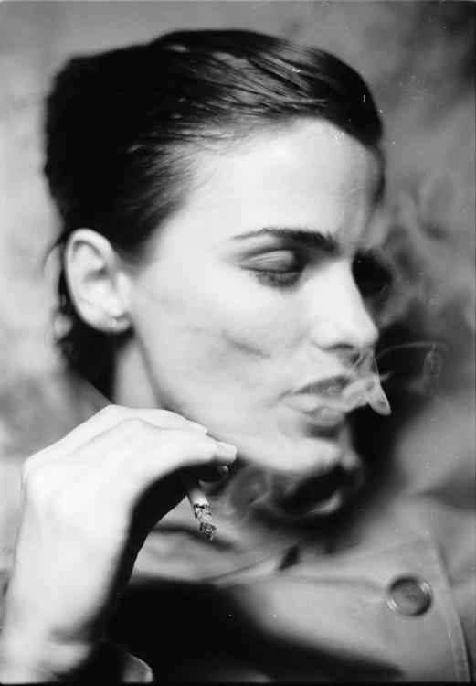 Smoking_Raincoat_#1