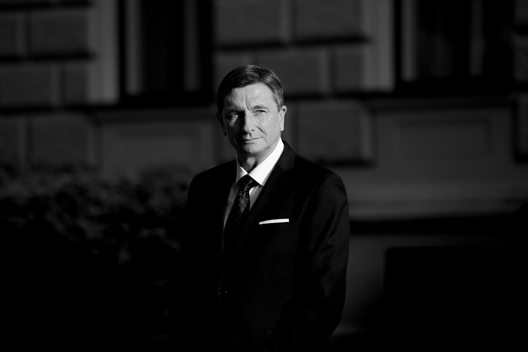 Borut Pahor, president of Slovenia (Ljubljana, 2019)