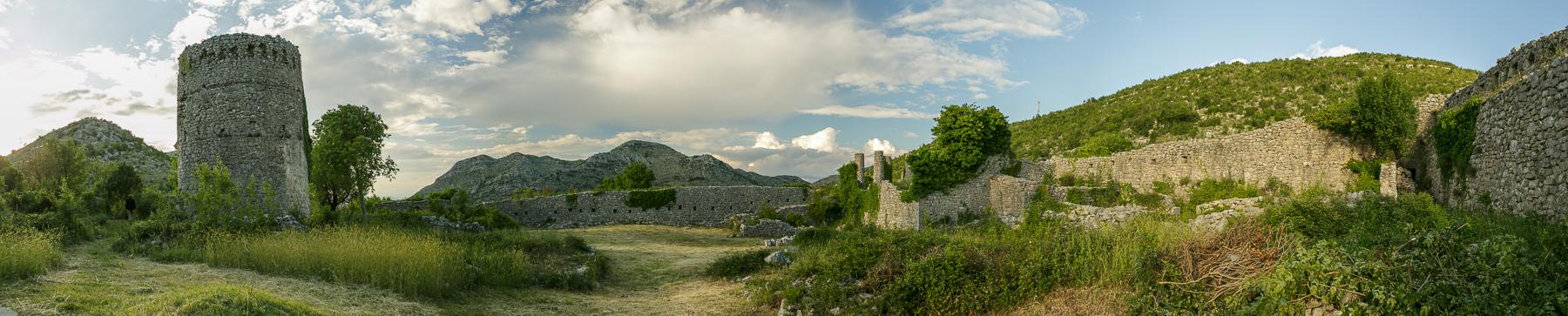 Hutovo, Ottoman fortress