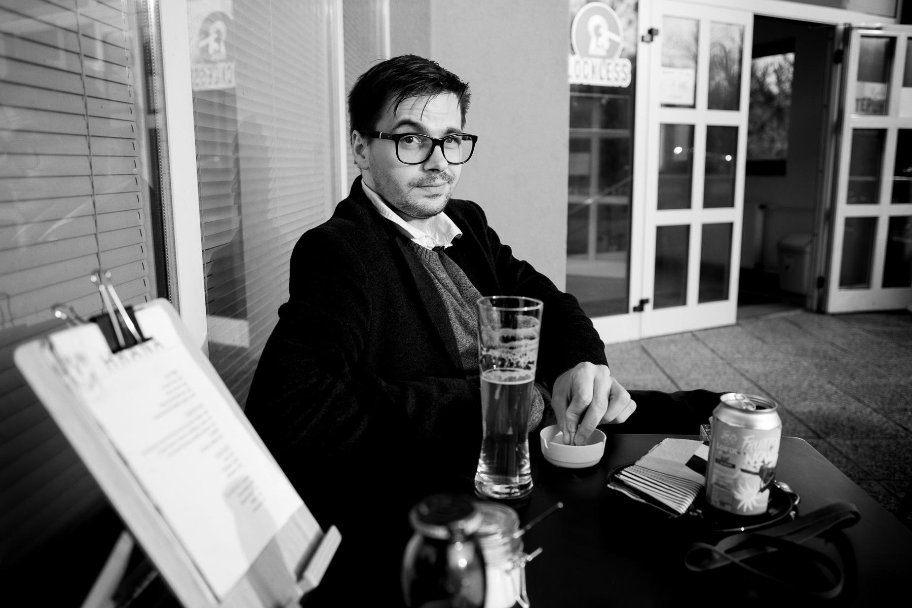 Christian Pavuna, Slovenian actor (Bled, 2019)