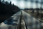 An empty highway is seen during the coronavirus nationwide lockdown and quarantine in Kranj, Slovenia, on April 5, 2020.