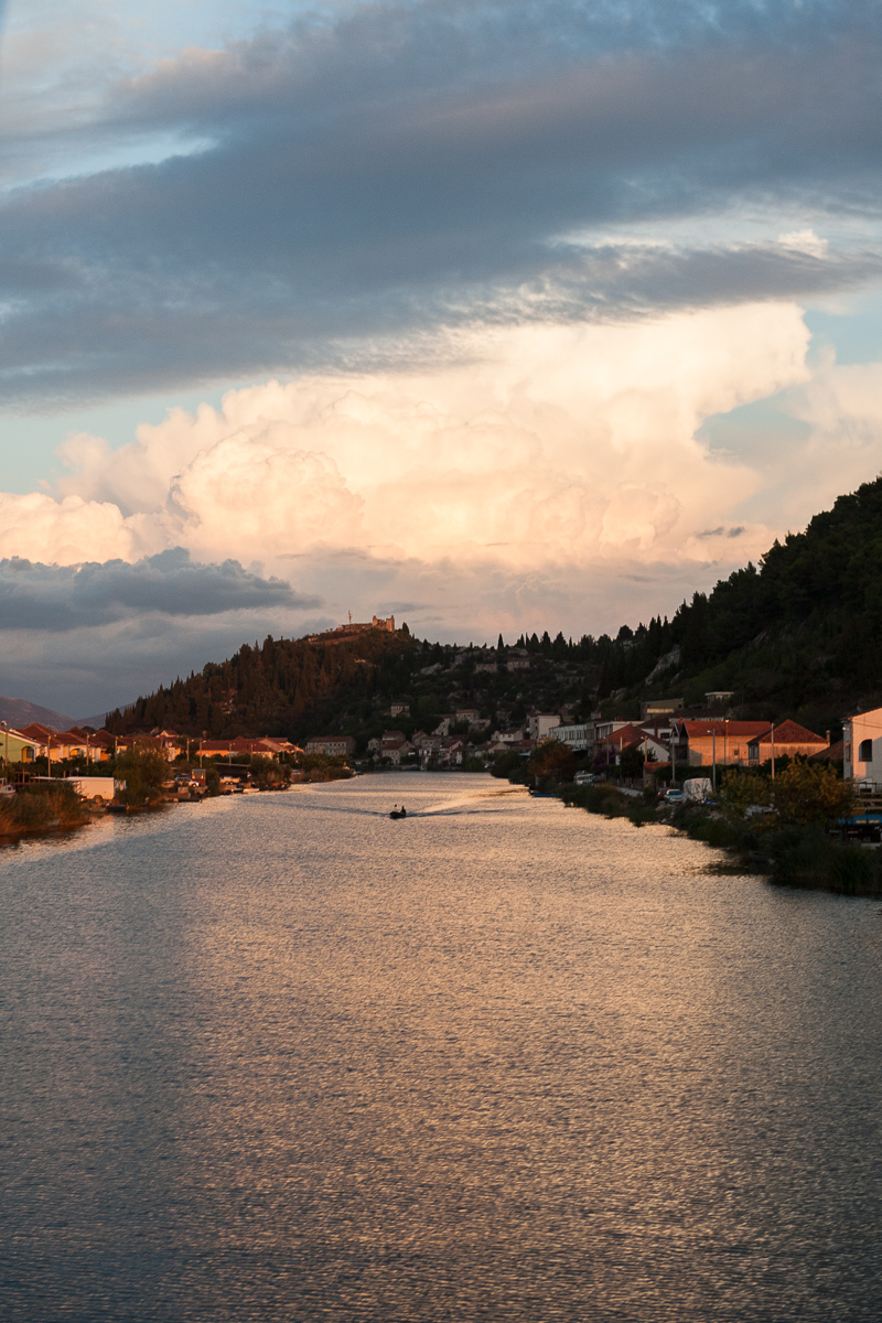 The delta of river Neretva