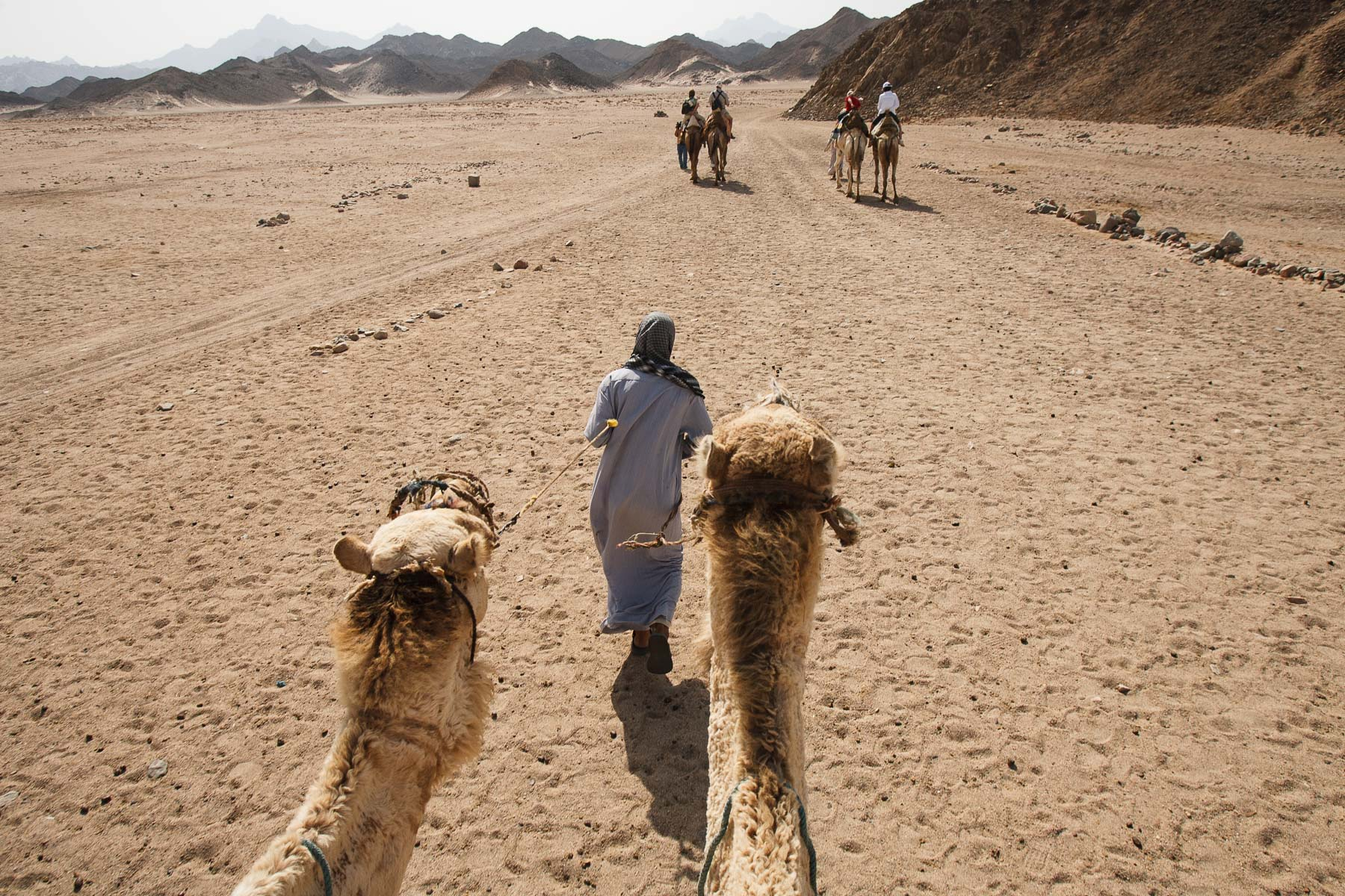 The Beduin village near Hurghada