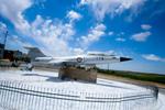 spomenik, posvečen pilotu, ki je umrl v letalski nesreči