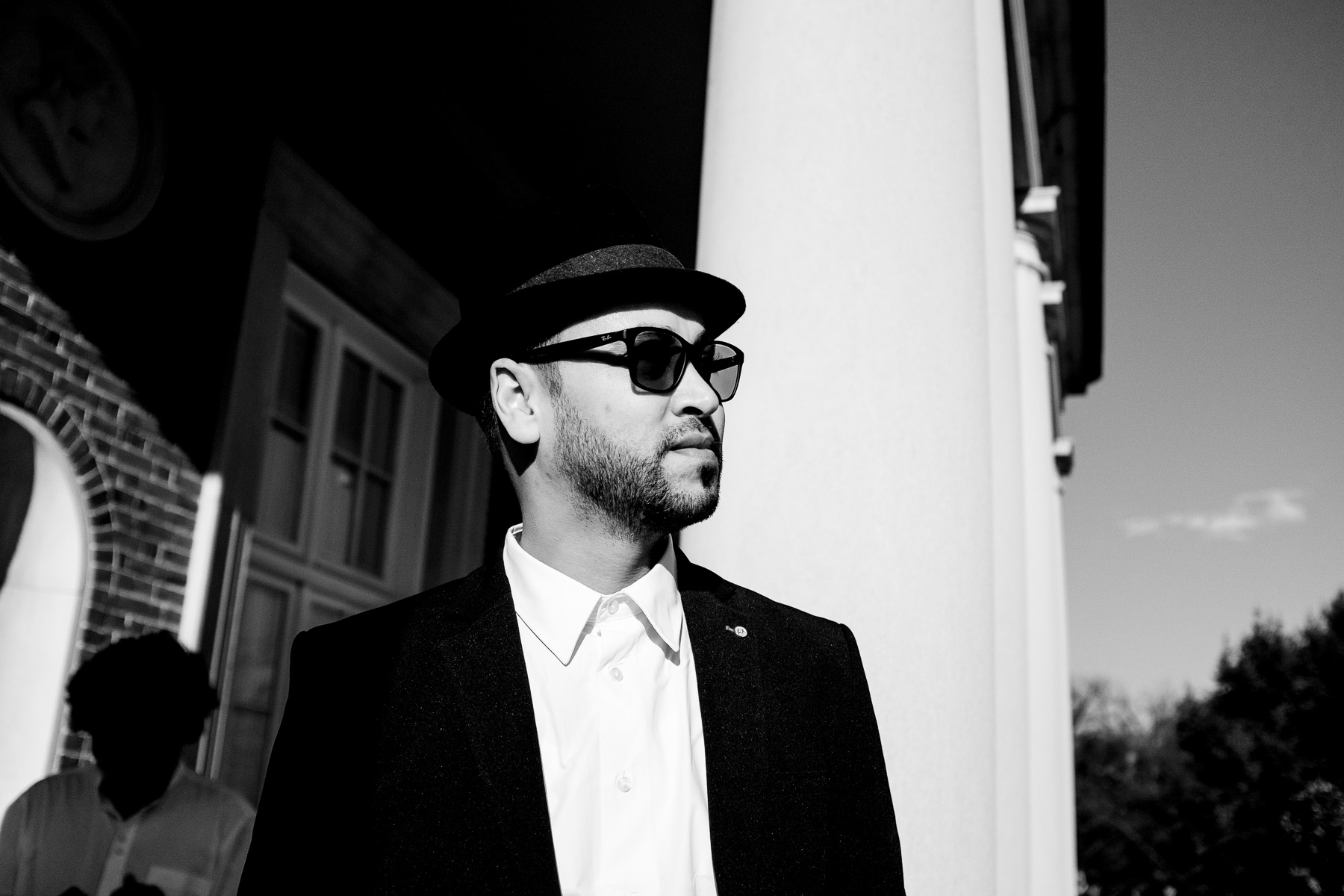 Abdelkarim Medouri aka Karim El Gang, Algerian rapper (Washington, USA, 2018)