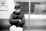 Abdelkarim Medouri aka Karim El Gang, Algerian rapper (New York, USA, 2018)