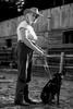 Photos of world-renowned equine expert Linda Tellington-Jones by Luka Dakskobler.