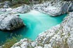 Thousands of fishermen flock to Soca River basin to try and catch the illusive and famous Marble trout, known to grow over 120cm and weigh over 25kg. Fishing regulation in Slovenia is strict, permits are very expensive, and size and quantity limits of a Marble trout catch are very low. All in the name of preserving the species.