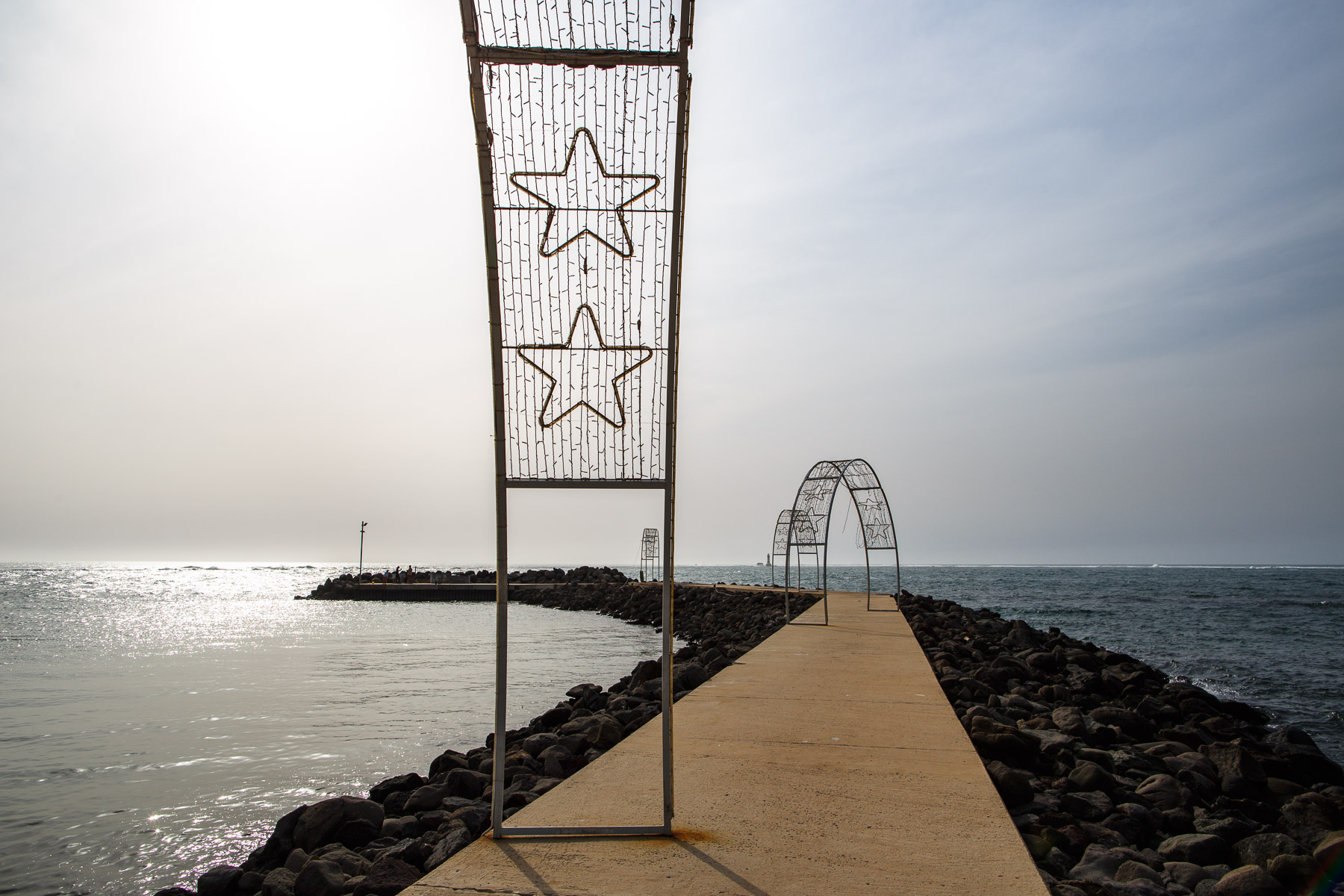 Pointe des Almadies, most Western point in West Africa, Dakar