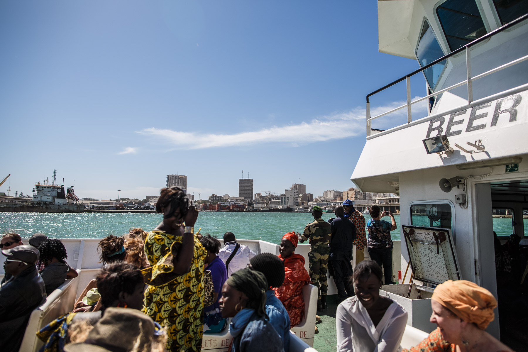 Ferry to Goree Island, Dakar