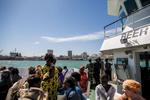 Ferry to Goree Island, Dakar