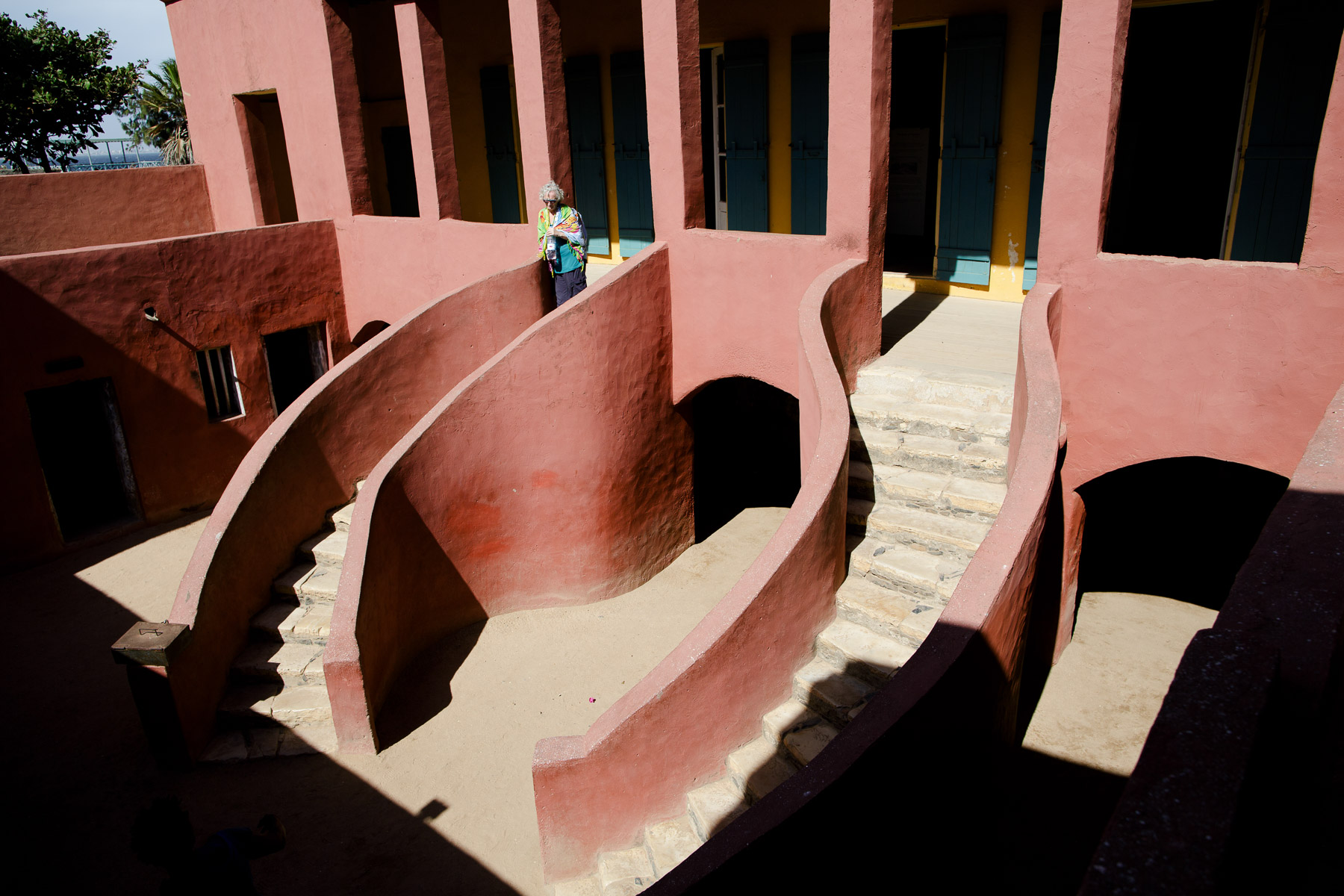 House of slaves, Goree Island, Dakar