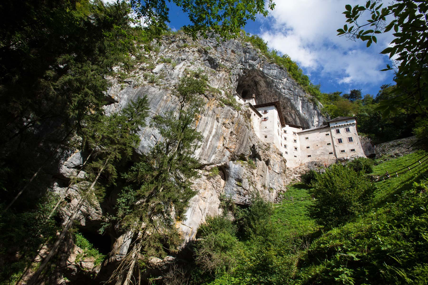 The Predjama Castle
