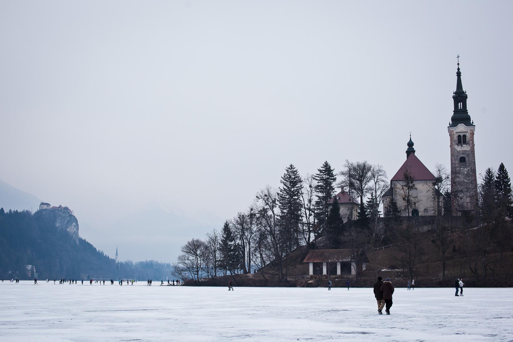Lake Bled (frozen)