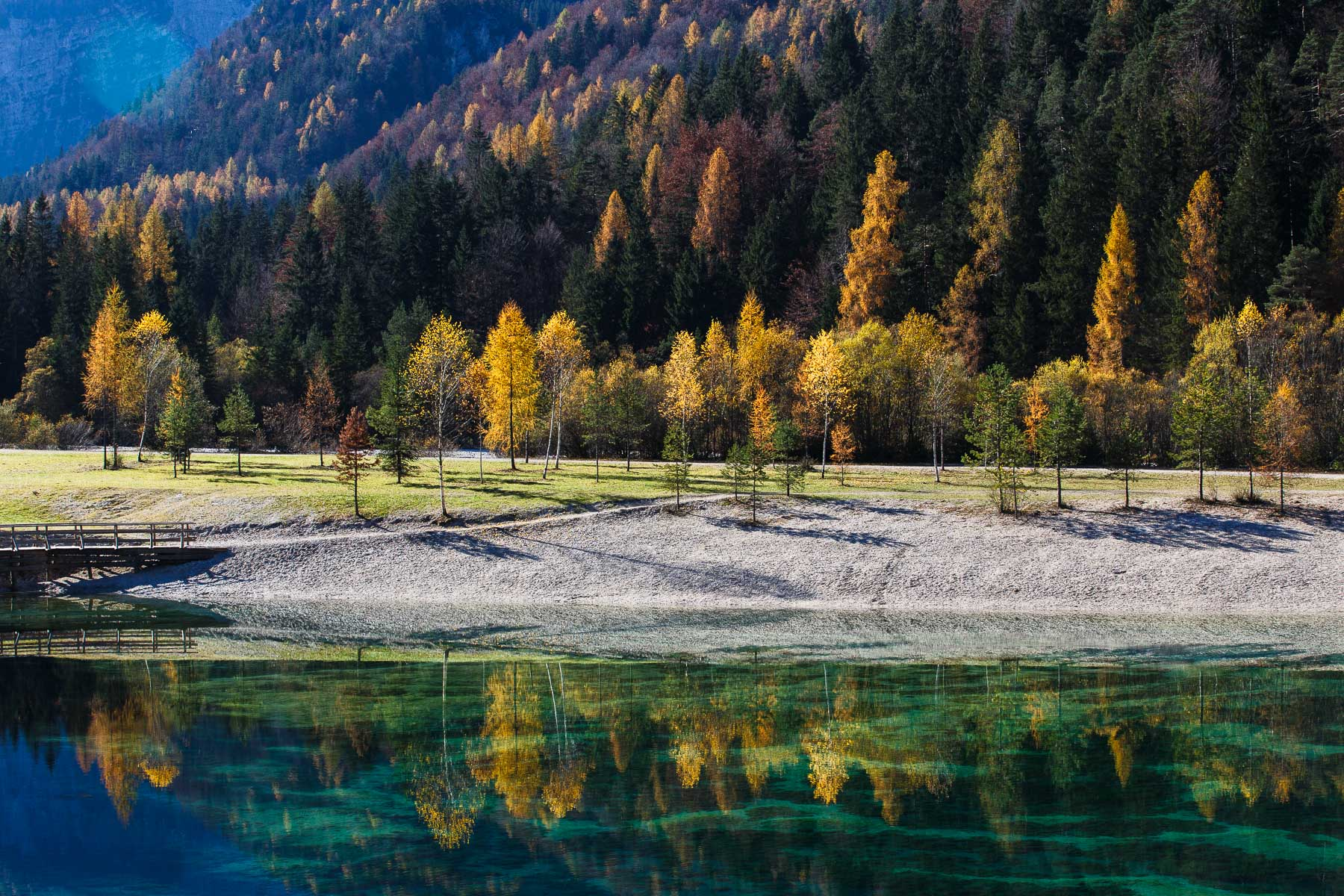 Kranjska Gora, Lake Jasna