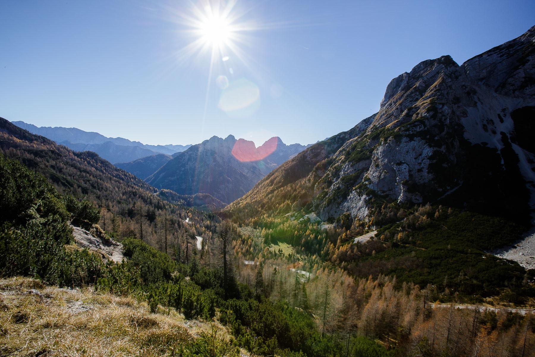 Vršic mountain pass