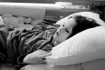 Barbara rests calmly in her bed, watching cartoons after lunch in dr. Marijan Borstnar rehabilitation institute in Dornava, Slovenia, March 19, 2012.