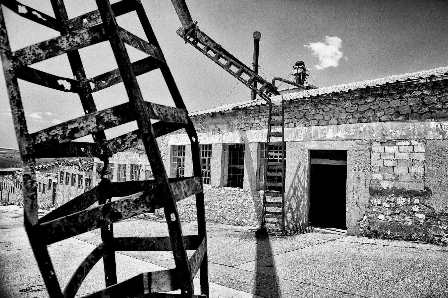 Goli otok island, once a high security, top secret prison for male political prisoners from 1949 to 1956, is now deserted and in ruins.