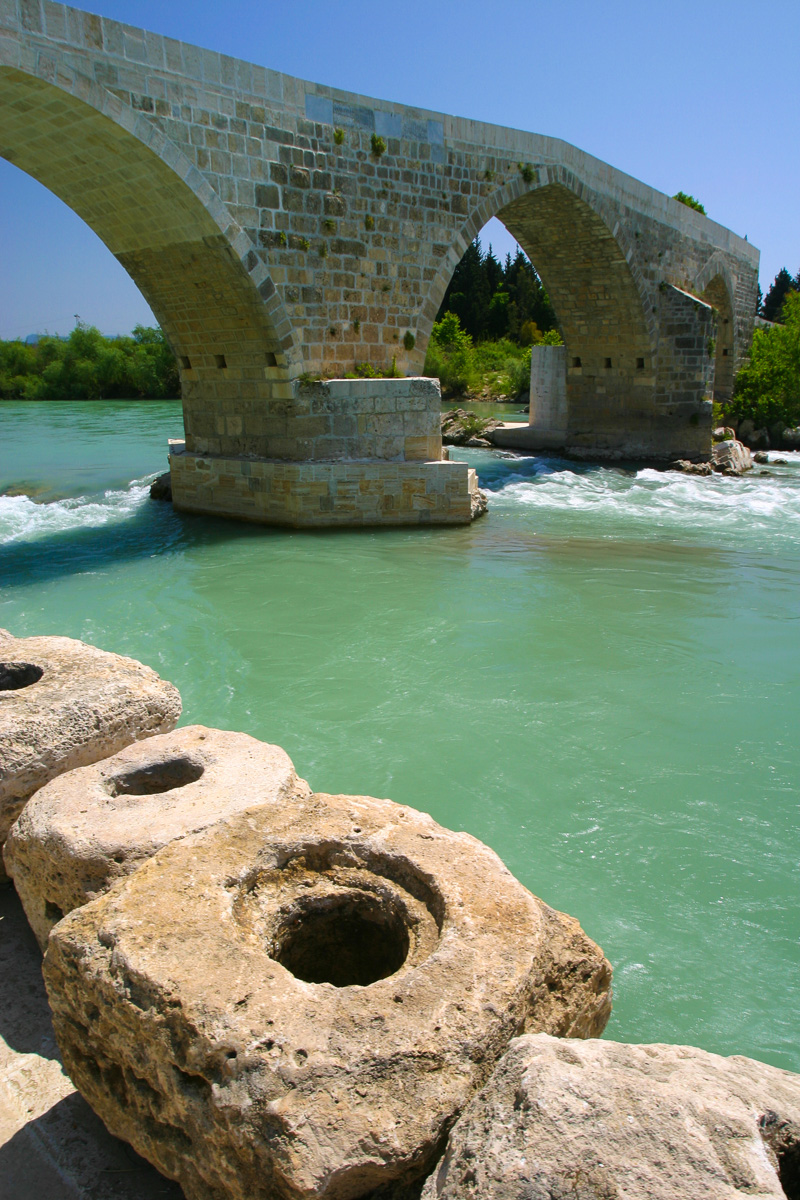 Belkis Bridge near Aspendos