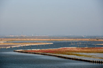 An extensive reconstruction work is underway in the south Venetian lagoon to rebuild salt marshes and reinforce their shores to protect them from waves that erode them and eventually destroy them.