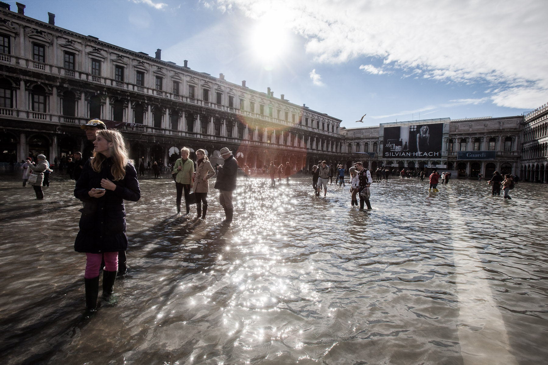 Strolling the flooded streets of Venice has become a new Venetian attraction. Everybody now knows Venice is sinking, but few actually realise that Venice could actually go under if no measures to save it were underway.