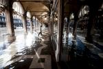 Venice, San Marco Square, November 1, 2012.