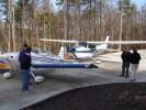 RV6 Cessna Skyhawk impromtu gathering