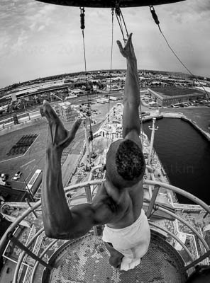 Top of Crows Nest Salute #0450Print Choices13 x 19 Archival Print $450.00 USD17 x 22 Archival Print $550.00 USD