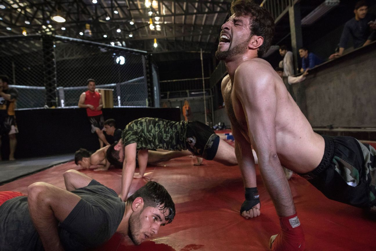 ESPN feature story on the MMA in Afghanistan.Click to read the entire story