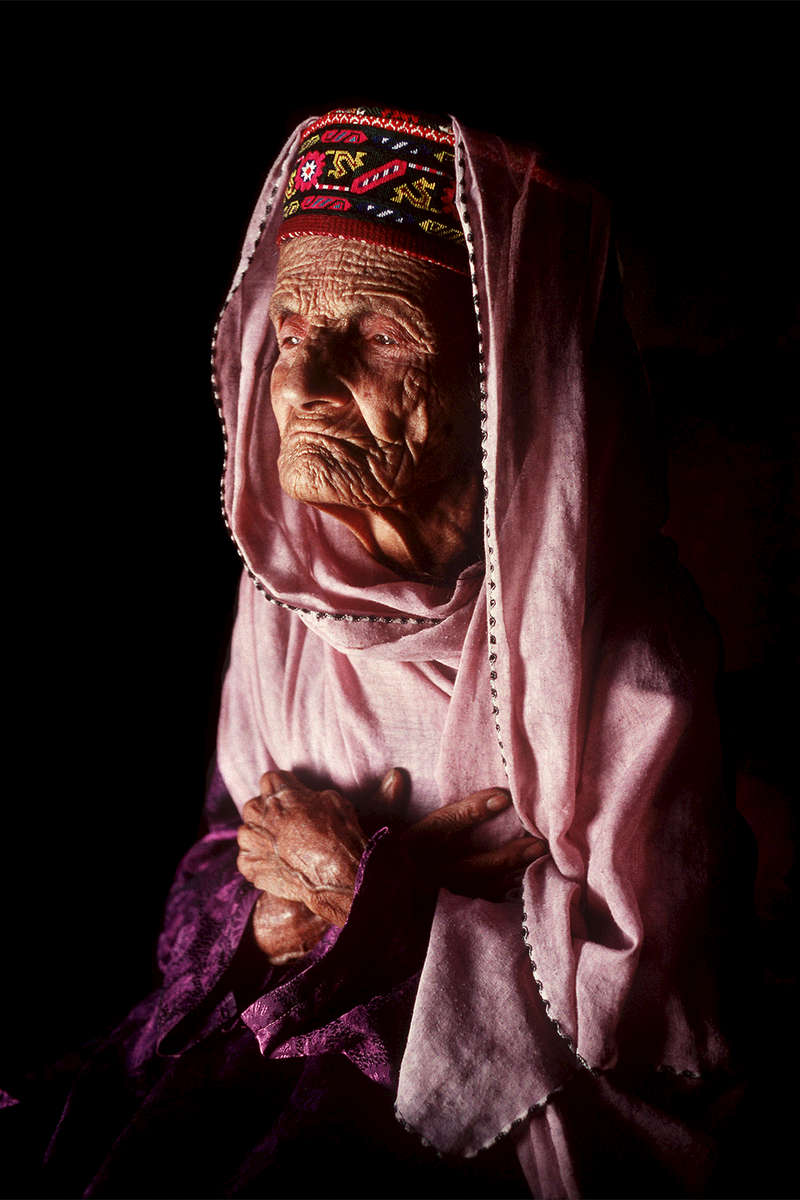 FILE HOTO TAKEN  IN GULMIT, KARAKORAM REGION OF WOMAN CLAIMING TO BE 114YRS OLD. PAULA BRONSTEIN/GETTY IMAGES