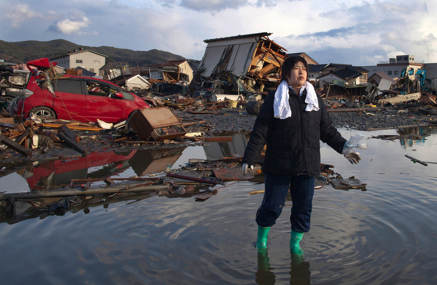 Asia  Natural Disasters  Japan TsunamiNatural Disasters Tsunami