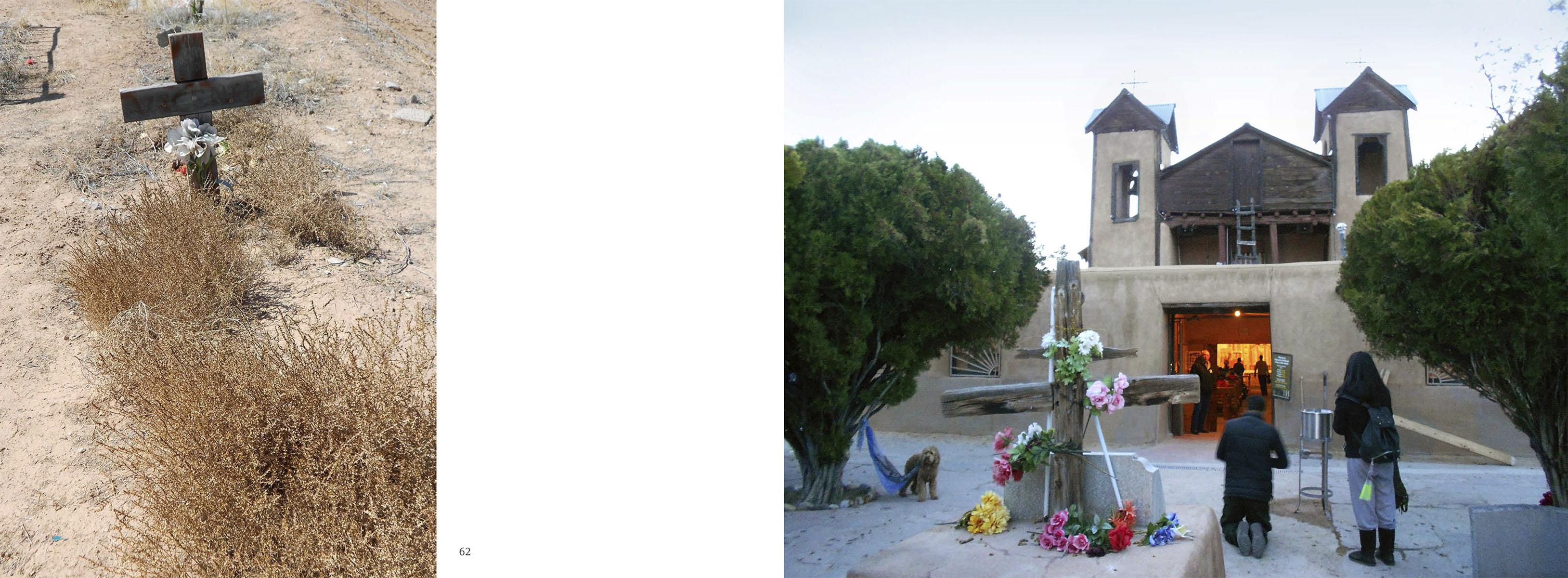 Chimayo: Lourdes of New Mexico by Helene CasanovaBook design and photo editing Paula GillenPrinter: Publications Printer Denver